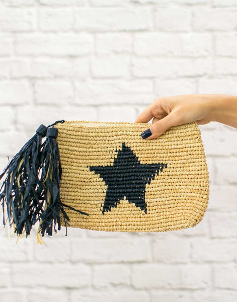 Mar Y Sol Small Star Clutch