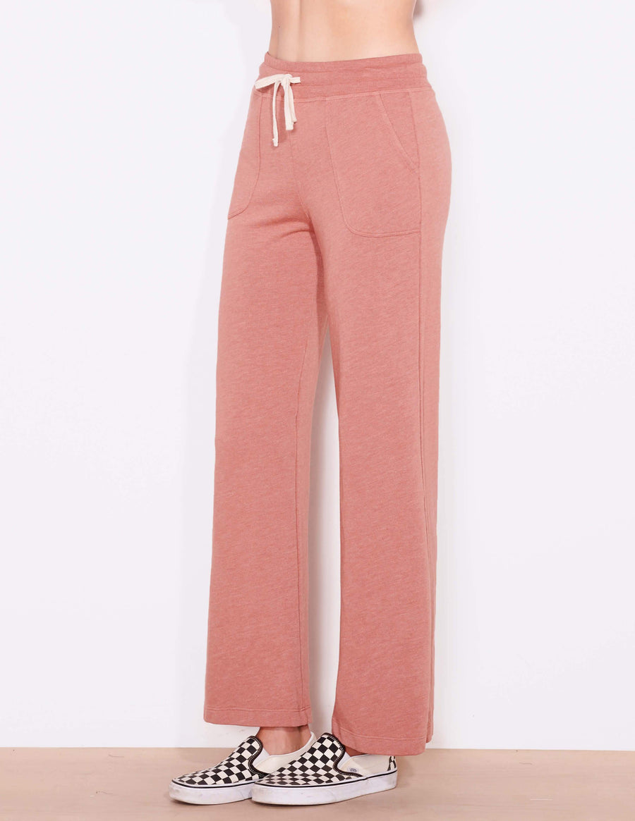 Sundry Pocket Straight Sweatpants
