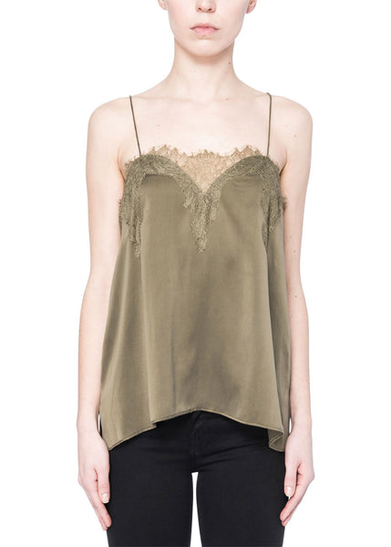 Cami NYC The Sweetheart Charmeuse Olive