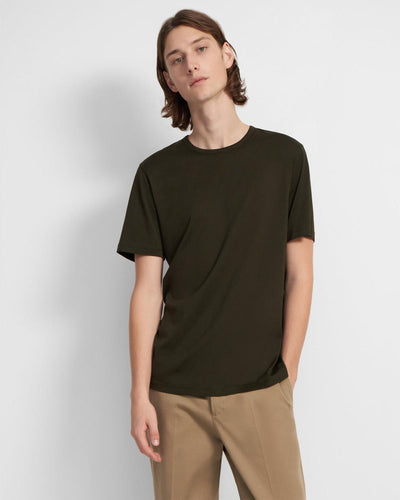 Theory Precise Shirt in Grove