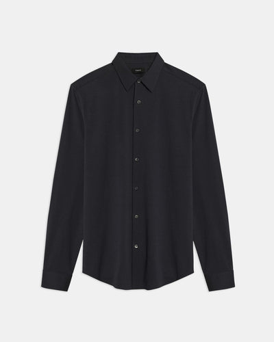 Theory Sylvain Shirt in Black