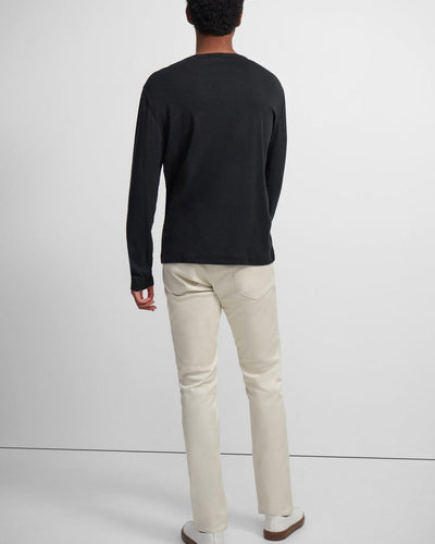 Theory Henley Shirt in Black