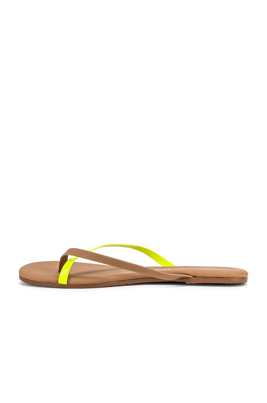 TKEES Riley Neon Yellow Shoes