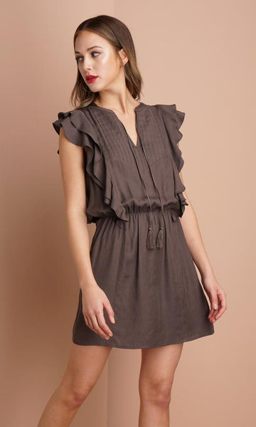 Greylin Trina Ruffled Dress