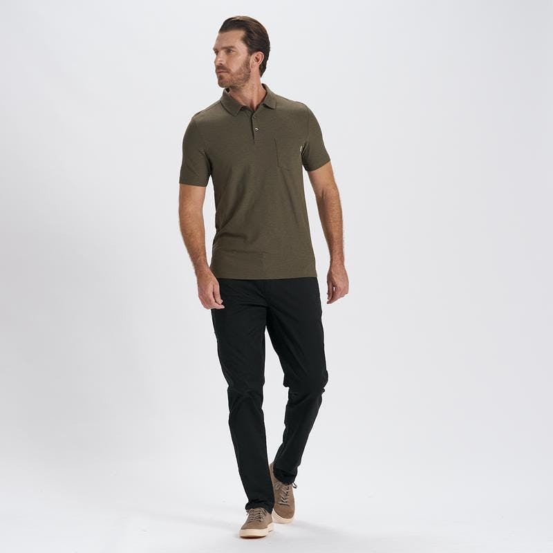 Vuori Ace Polo in Oregano