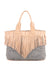 Cocobelle Fringe Bag in Grey