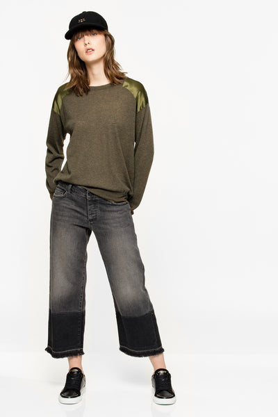 Zadig&Voltaire Kansas Patch Cashmere Sweater