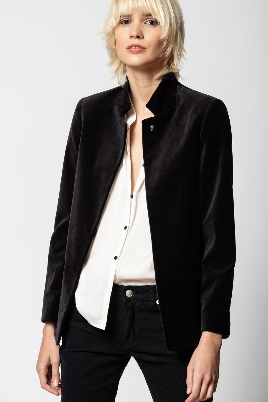 Zadig & Voltaire Volly Velours Jacket