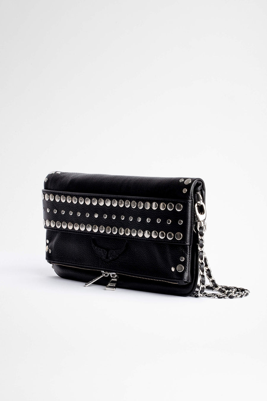 Zadig & Voltaire Rock Studs Outline Clutch