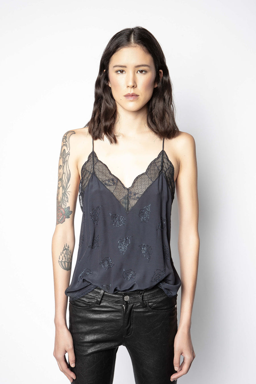 Zadig & Voltaire Christy Strass Camisole