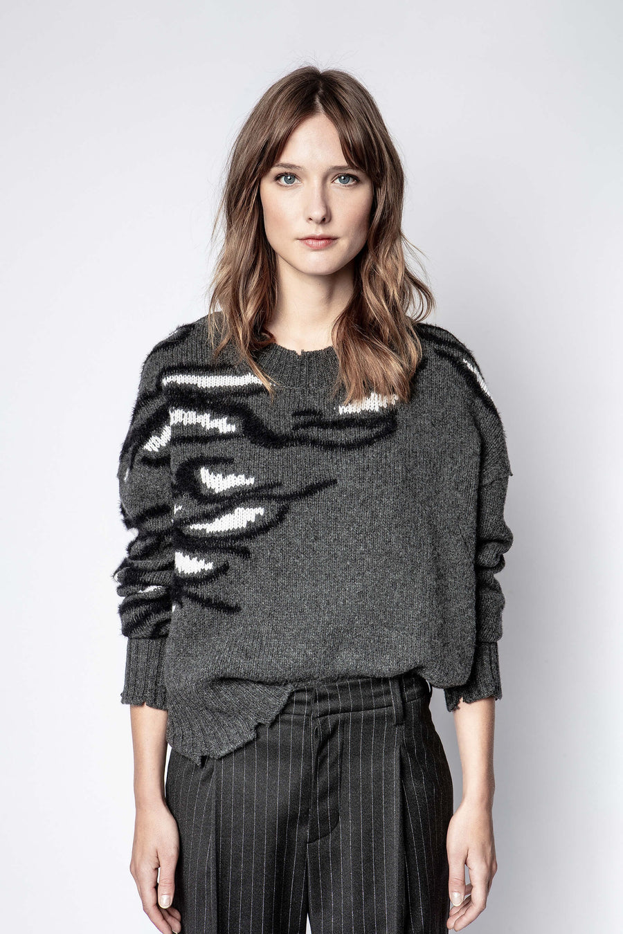 Zadig & Voltaire Starry Bond Tiger Sweater