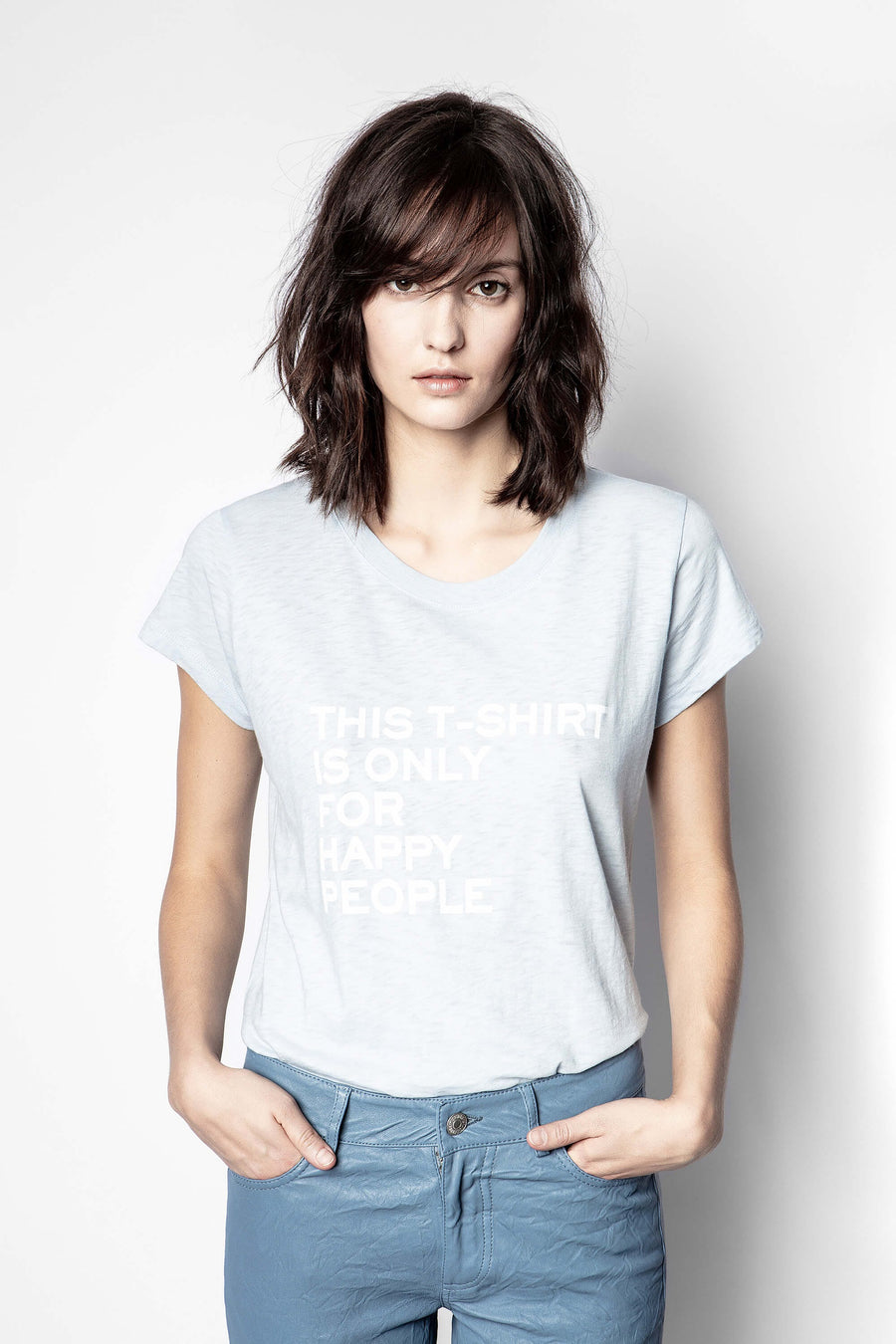 Zadig & Voltaire Woop Happy People T-Shirt