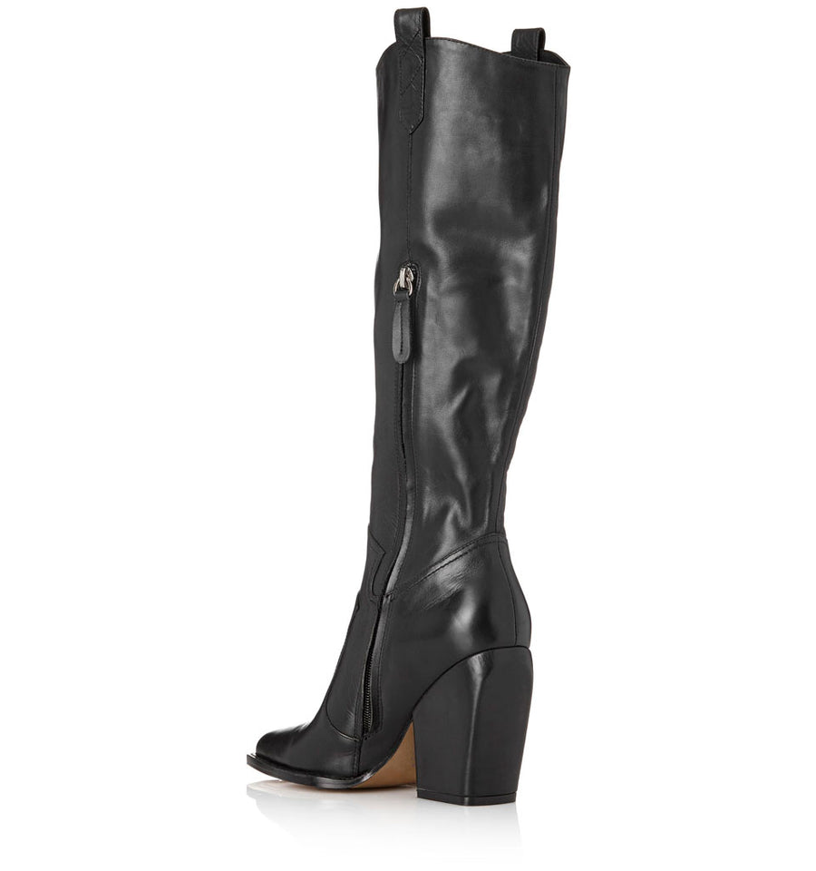 Alias Mae Wesley Boot in Black Burnished