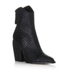 Alias Mae West Black Snake Boot