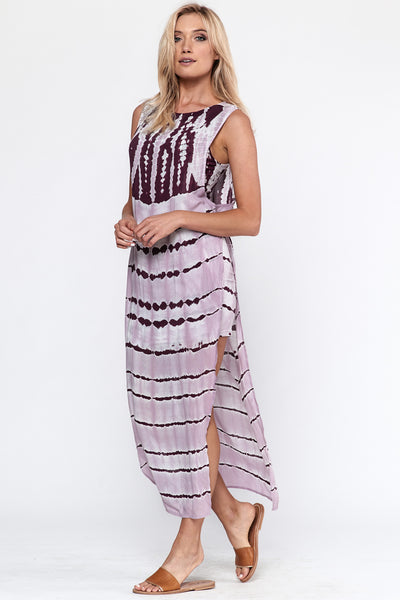 Young Fabulous & Broke Amara Maxi in Pinot Stripe