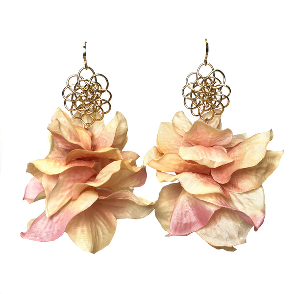 Cassandra Collections Blush Floral Earrings