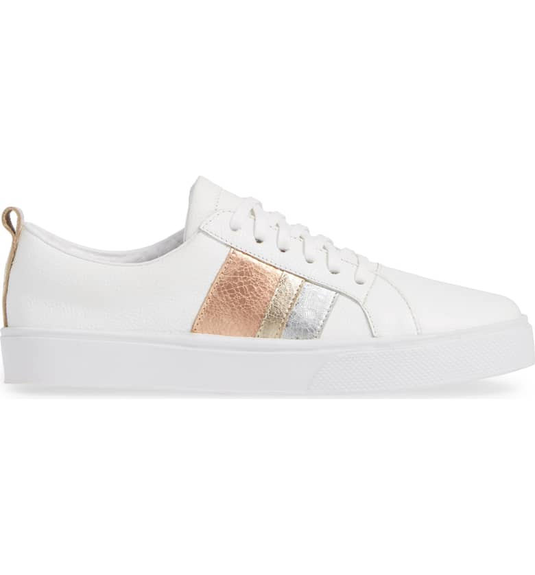 Kaanas Bristol Gold Lace Up