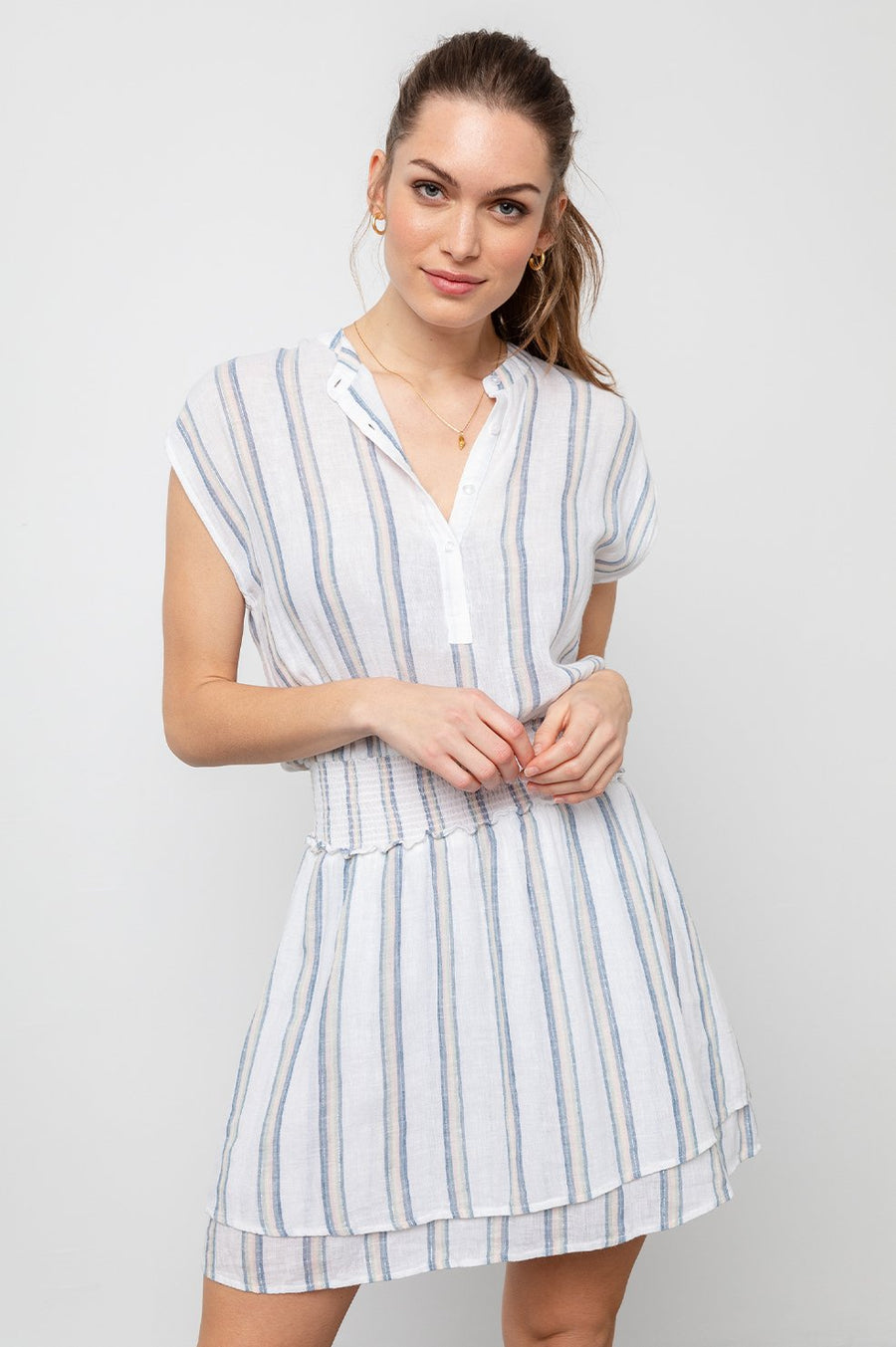 Rails Angelina Dress in Ryland Stripe