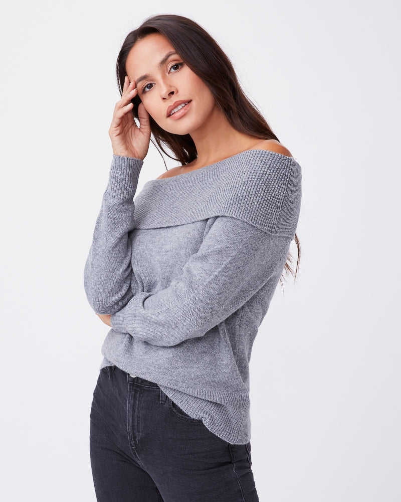 Paige Izabella Sweater in Grey