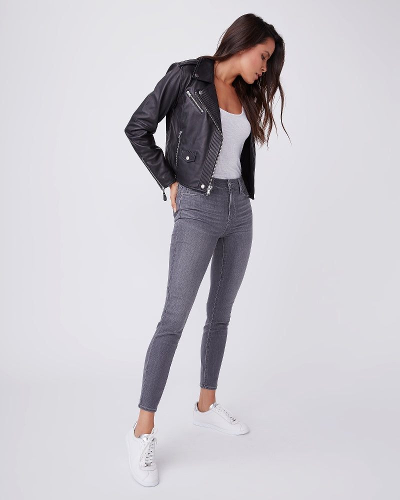 Paige Hoxton Jeans in Stone Dust