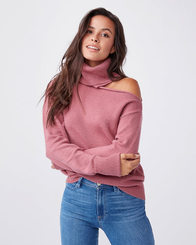 Paige Raundi Sweater in Mesa Rose