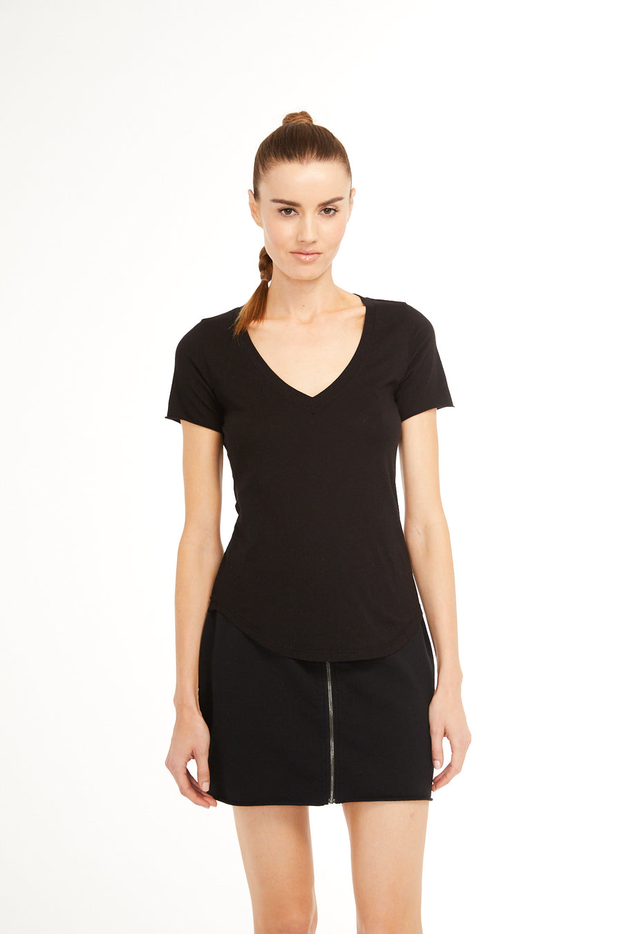 Sundays Camino V Neck Top