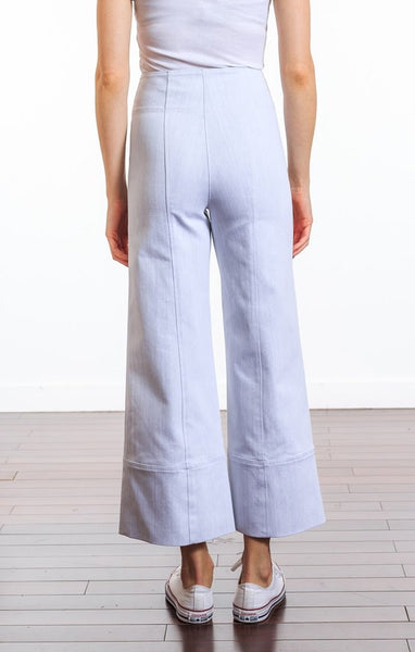 Cinq a Sept Chalk Denim Marla Pant