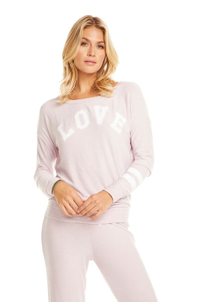 Chaser Team Love Dolman Top