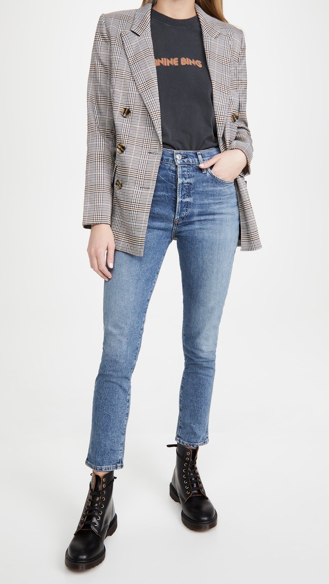 Citizens of Humanity Olivia High Rise Jeans in Tinker