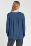 dRA Hana Top In Denim Blue