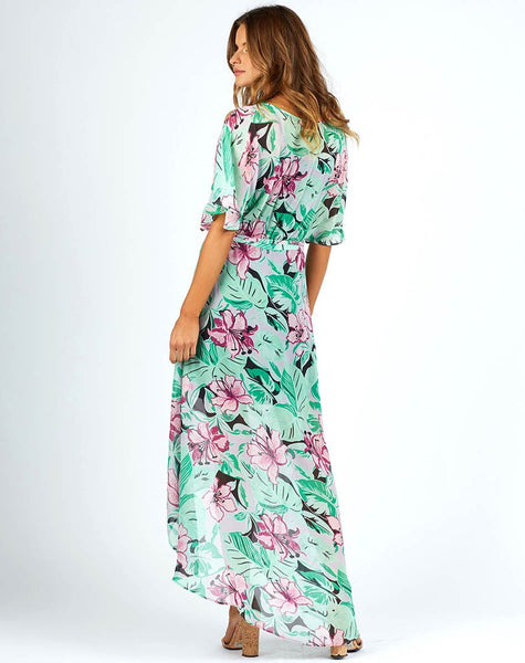 Cleobella Delilah Dress in Jungle Haze