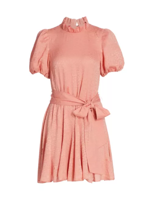 Alice and Olivia Mina Dress in Rose