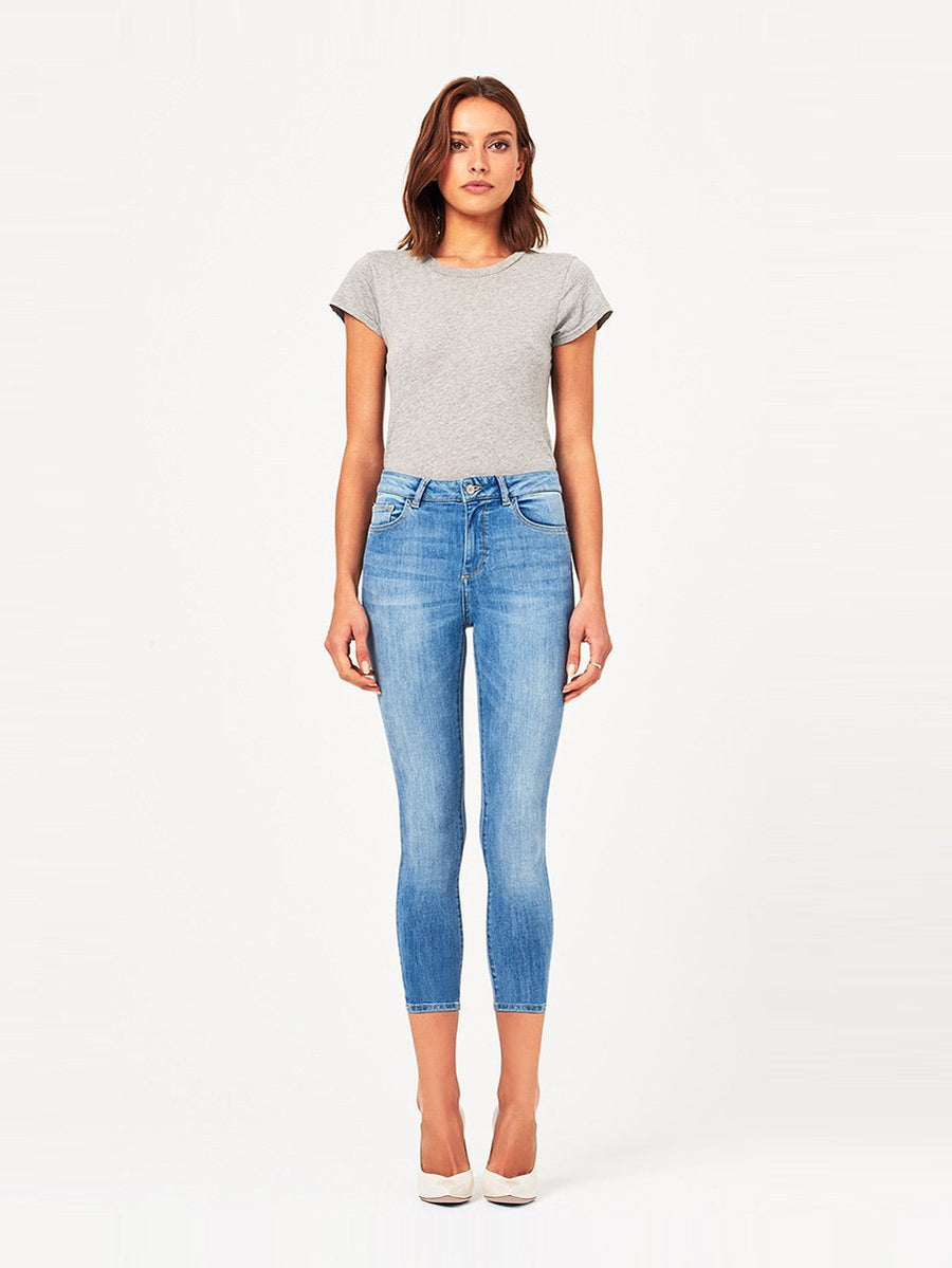 DL1961 Farrow Crop High Rise Skinny in Cordell
