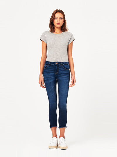 DL1961 Florence Crop Mid Rise Skinny in Ralston