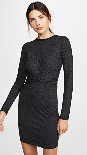Monrow Granite Wrapped Dress