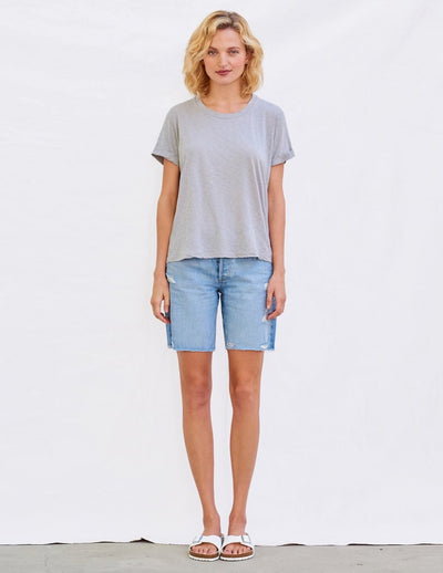 Sundry Star And Heart Rolled Tee