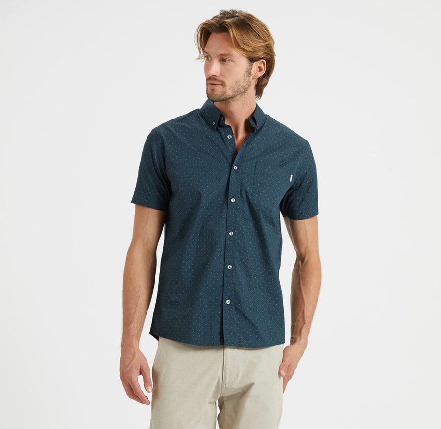 Vuori Crest Short Sleeve Button Down