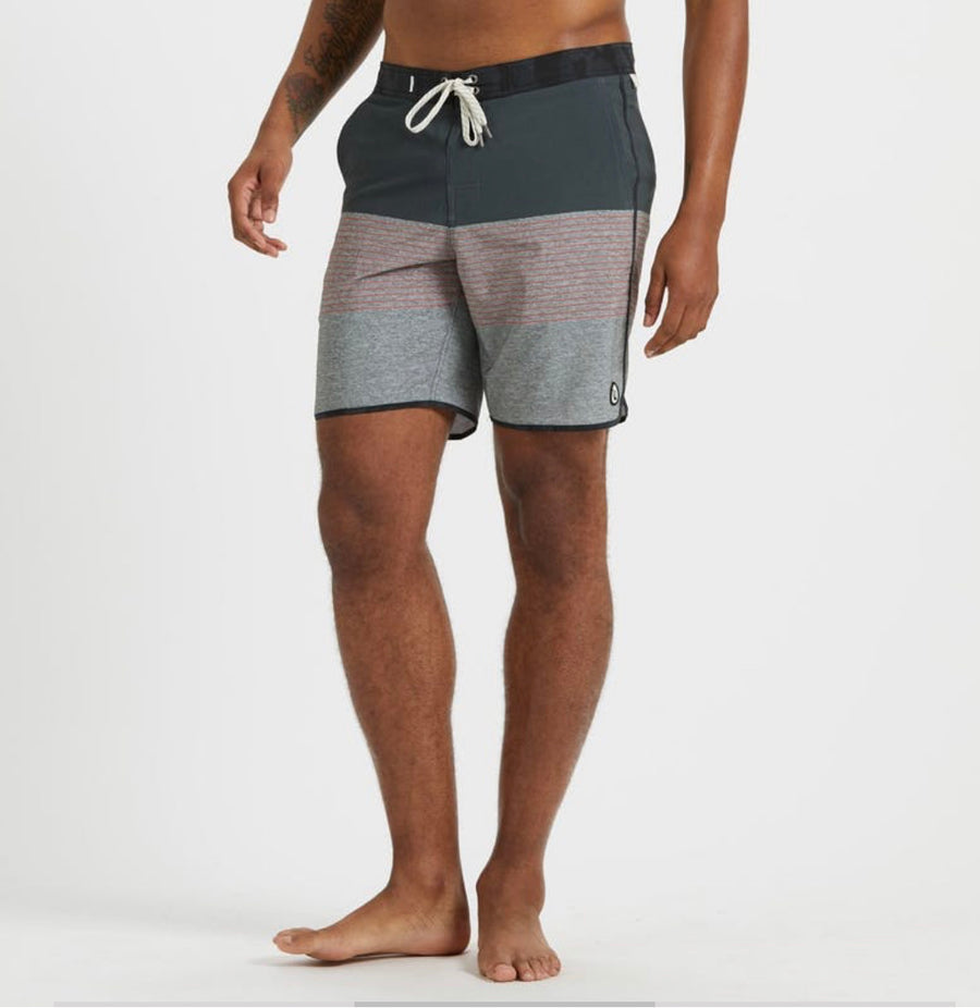 Vuori Cruise Board Short in Melon Stripe