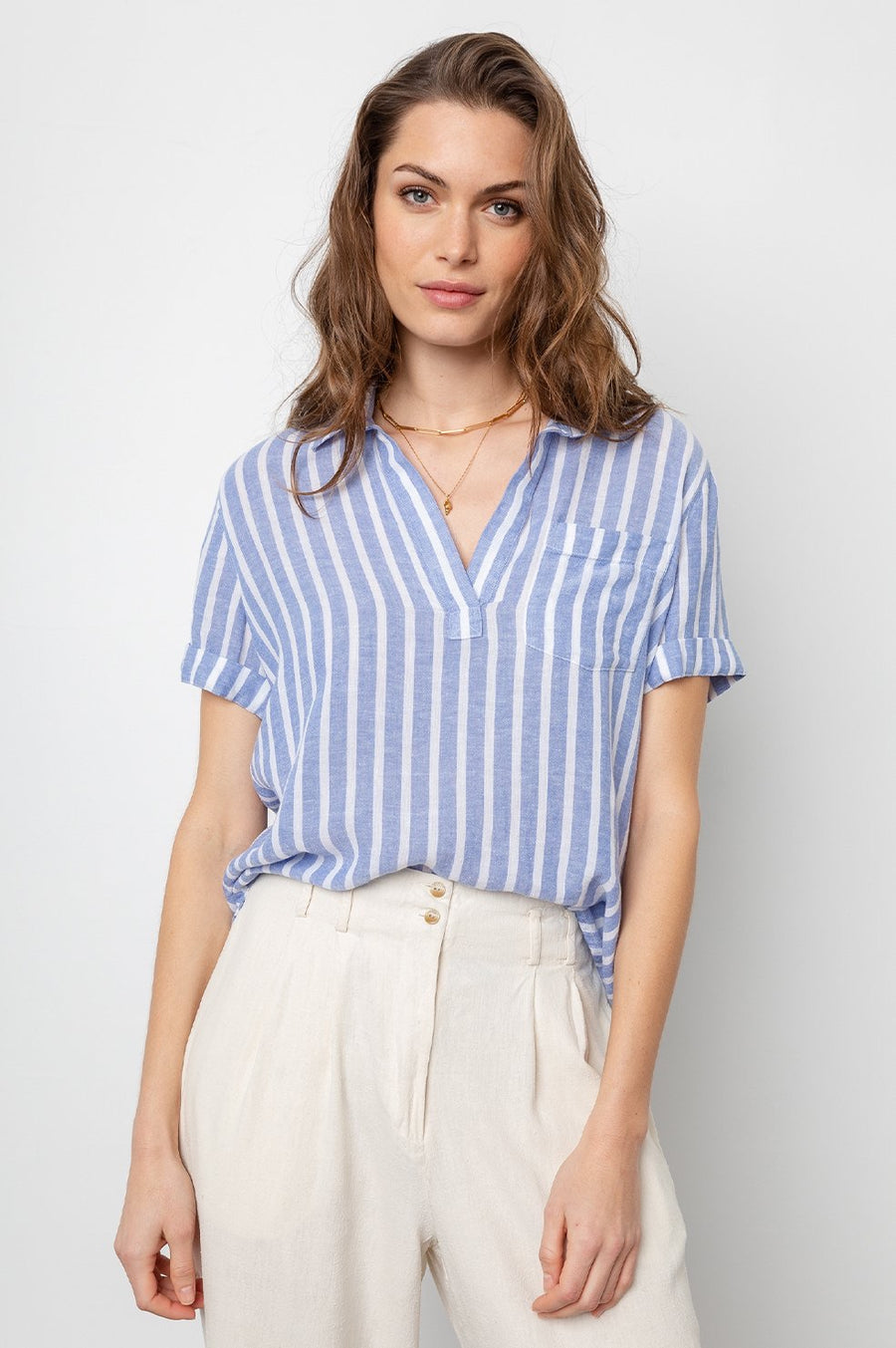 Rails Savannah Top in Juneau Stripe