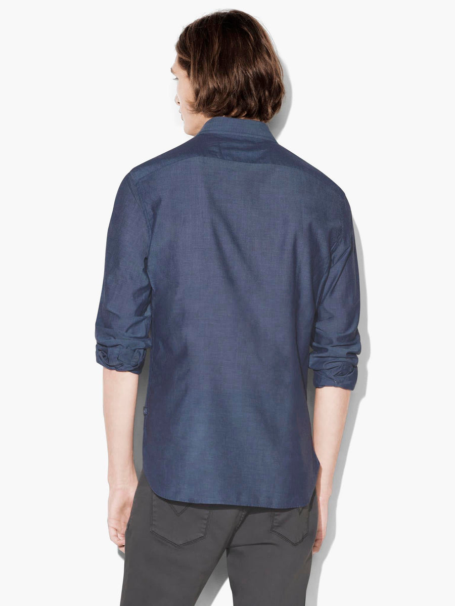 John Varvatos Rolled Up Shirt