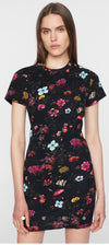 Pam & Gela Fineline Floral TShirt Dress