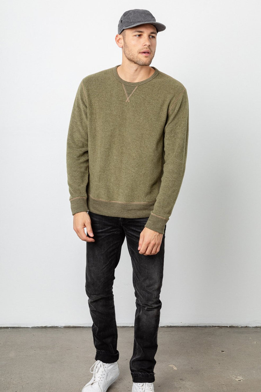 Rails Irving Sweater in Olive