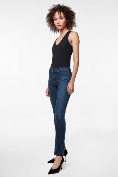 J Brand Maude Mid Rise Cigarette in Unbound