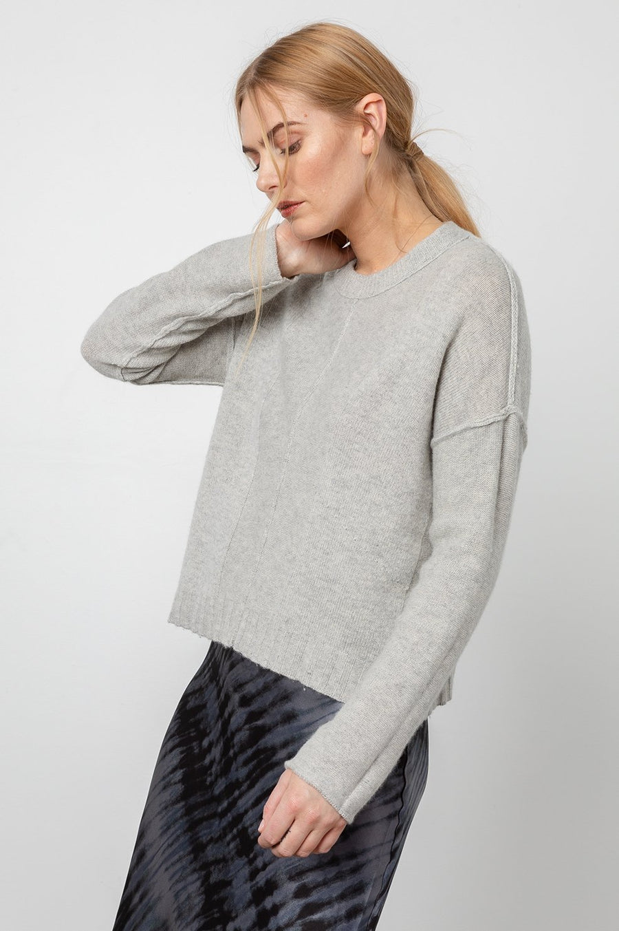 Rails Joanna Sweater in Grey