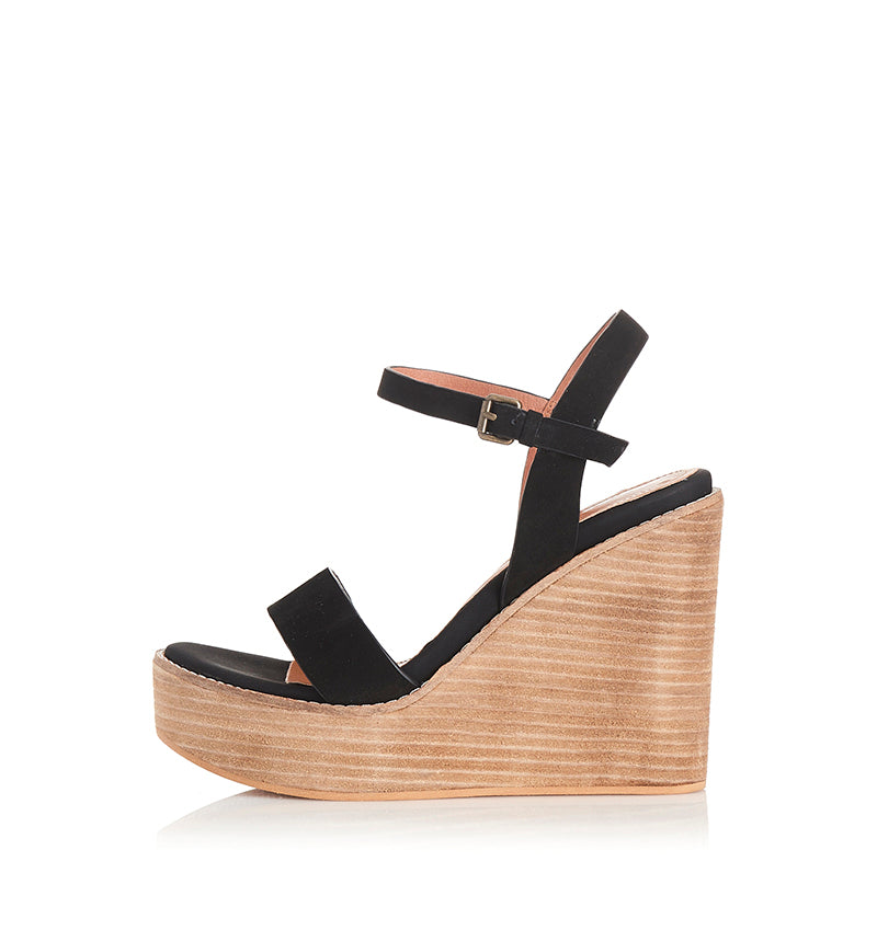 Alias Mae Kika Wedge in Black
