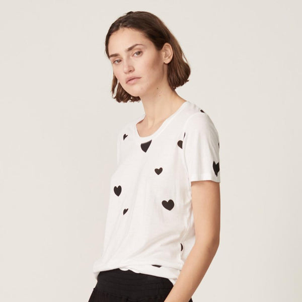 Monrow Relaxed Heart Top