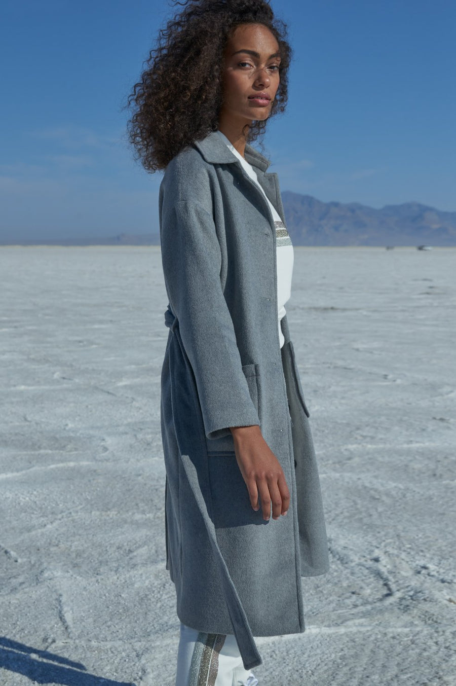Rails Nadine Coat in Heather Grey