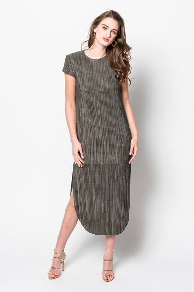 Sabina Musayev Shirin Dress in Olive