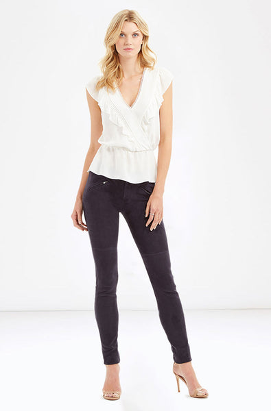 Parker Taylan Top in Ivory - Estilo Boutique