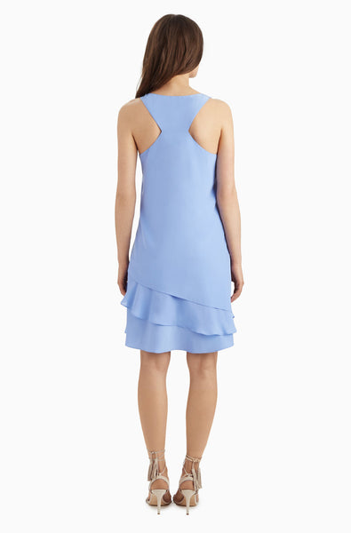 Parker Eve Combo Dress in Periwinkle